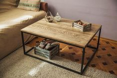 Журнальный столик из ясеня. Производство мебели под заказ. Отправка в любую точку. Лофт, индастриал, прованс, рустик. Ash coffee table. Loft style table. Loft, industrial, rustic, provance.