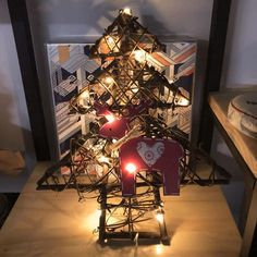 3 Pcs Santa Christmas Tree Wood Sleigh Pendant Gift Home Door Hanging Decoration 2018 Xmas Decorations For Home Price Remains Stable Diamond