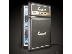 オトコの憧れ!マーシャル2段積みアンプ型冷蔵庫 Marshall Fridge