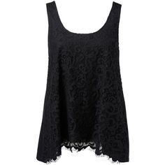 Forever New Emmaline Lace Front Swing Tank and other apparel, accessories and trends. Browse and shop related looks.