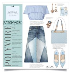"""All Patched Up: Patchwork"" by jelenalazarevicpo on Polyvore featuring Current/Elliott, Miss Selfridge, Chanel, Mawi and Marc Jacobs"