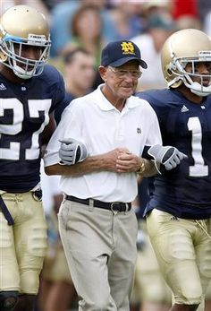 """Adversity is another way to measure   the greatness of individuals. I never had   a crisis that didn't make me stronger.""  - Lou Holtz"