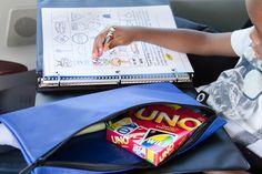 Fun Book/Binder for Car & Kids