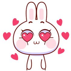 With Tenor, maker of GIF Keyboard, add popular Cony animated GIFs to your conversations. Share the best GIFs now >>> Cute Love Cartoons, Cute Couple Cartoon, Cute Cartoon, Love You Gif, Cute Love Gif, Rabbit Gif, Rabbit Baby, Emoji Love, Cute Emoji