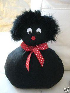 Handmade Cute Golly Gollywog Golliwog Doorstop Pre-Filled in Black Felt BN | eBay