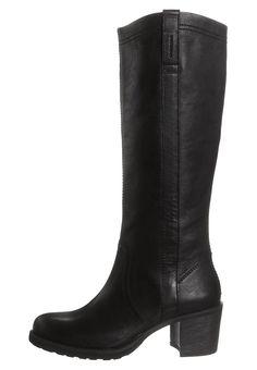 HALEY - Høje støvler/ Støvler - sort