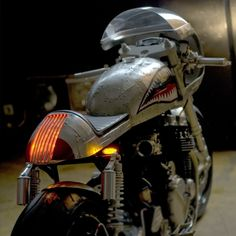 "Honda CB750 Cafe Racer ""Barracuda"" by White Collar #motorcycles #caferacer #motos | caferacerpasion.com"
