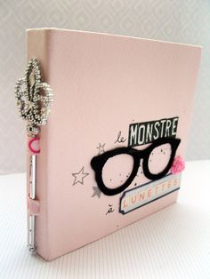 Minibook - The Monster With Glasses by BlueOrchys at @studio_calico
