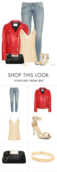 """""""Red"""" by ksims-1 ❤ liked on Polyvore featuring Frame Denim, Acne Studios, BCBGMAXAZRIA, MICHAEL Michael Kors and Michael Kors"""