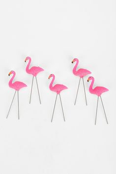Flamingo Cake Candles - Urban Outfitters
