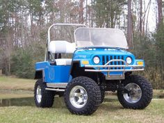 Jeep - body by Golf Car Designs