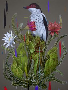 "Frank Gonzales - ""Savage Beauty"" Print"