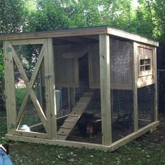 Chicken coop- I WILL build one~ Fresh eggs!