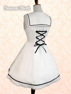 Flap Styled Sailor jsk, Innocent World