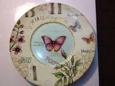 Bordes y color. imagen obtenida de la web China Painting, Ceramic Painting, Porcelain Ceramics, Ceramic Pottery, Decoupage, Lost Art, Dinner Sets, Easy Crafts, Decorative Plates