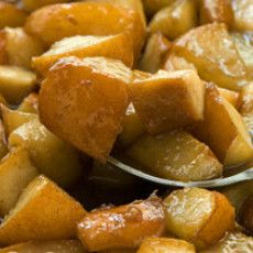 Caramelized Pears Recipe  4 tablespoons unsalted butter (1/2 stick) 1/2 cup packed light brown sugar 4 medium Bosc pears, cored and cut into large dice (about 4 cups) 1/4 teaspoon ground cloves
