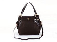 Prada BR4290 Women Leather Shoulder Bags in Black - pradafire.com 9054313f3f4be