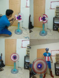 everybody can be Captain America