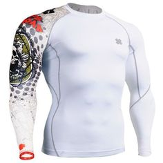 Fixgear Mens Womens Cycling MMA Tight Under T Shirt Long Sleeve Base Layer XXXL *** Learn more by visiting the image link. This is an Amazon Affiliate links.
