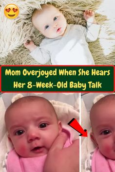 #Mom #Overjoyed #Hears #Week #Old #Baby #Talk Angelina Jolie Style, Weekly Outfits, Amazing Buildings, American Horror Story, Beauty Make Up, Birthday Decorations, Anime Guys, Valentine Gifts, Summer Outfits