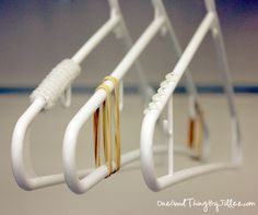 Life Hacks to Maximize Space in Your Closet : how to prevent shirt from falling off the hangers
