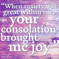 Great verse to remember when anxiety sets in!
