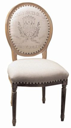An excellent look at our Oval Back Dining Chair!