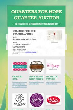 ALL Thirty-One Products Quarter Auction! @ Alton Moose ...