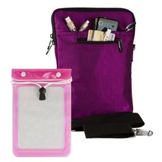 Quality Modern Messenger Style, Violet Vangoddy Select 10 Inch Hydei Clutch Sleeve Cover for All Models of the Google Nexus 10 10.1 Inch Tablet + Waterproof Tablet Bag Case fits 8 - 10 inch Tablets by VG Inc. $19.45. Introducing Vangoddys Premium Hydei Sleeve Collection! The Hydei sleeve is a one of kind fashion forward modern messenger style case and best of all is the quality! Our Hydei collection is constructed in three layers: First the exterior is made of...