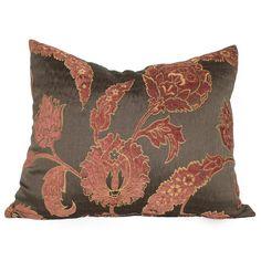 Fleur De Lis Living Bumpy Fire Flower Throw Pillow | Wayfair