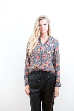 Silena Floral Shirt