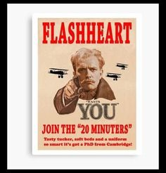 Blackadder Joins The 20 Minuters - Home in time for tea and medals British Comedy Series, British Tv Comedies, Lord Flashheart, Blackadder Quotes, Rik Mayall, Only Fools And Horses, British Humor, Comedy Tv, Want You