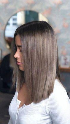 Dark Blonde Hair Color, Hair Color Streaks, Hair Color And Cut, Hair Highlights, Level 6 Hair Color, Dark Hair, Brown Hair Balayage, Hair Color Balayage, Medium Hair Styles
