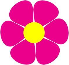svg daisy Flower Power Daisy Clip Art at Clker com vector clip art online Flower svg Flower images Flower template