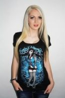 Roller girl Ladyfit T-paita L-XL