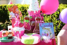 Candy Land Themed Party #candyland party #candyland decor