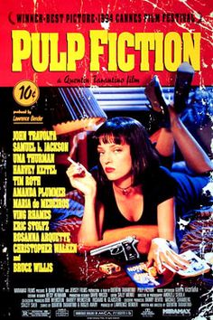 Cartel Pulp Fiction | Carteles de Cine y Posters