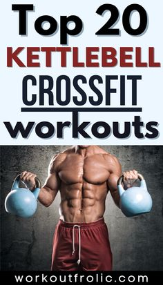 A fine list of 20 kettlebell crossfit workouts to try out at home or at the gym. #crossfitworkouts #crossfit #kettlebellworkout Functional Workouts, Kettlebell, At Home Workouts, Crossfit, Health Fitness, Lose Weight, Gym, Kettlebells, Excercise