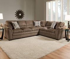 I found a Simmons Big Top Living Room Sectional at Big Lots for less