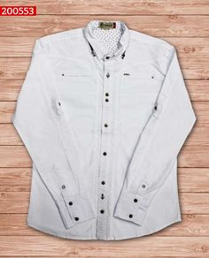 camisa-manga-corta-color-blanco-ref-200553-Mens Fashion #sexy #men #mens #fashion #neutral #casual #male #males #guy #guys #hot #hotlooks #great #style #styles #clothing