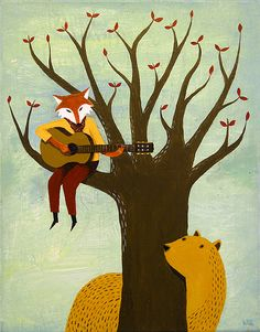 Fantastic Mr Fox meets Something About Mary