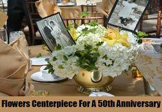 4 Homemade Centerpiece Ideas For A 50th Anniversary