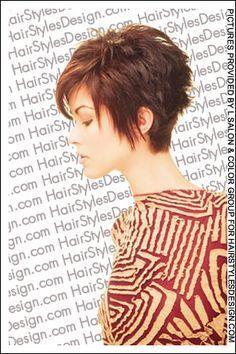 short spiky hairstyles for fine hair - Google Search