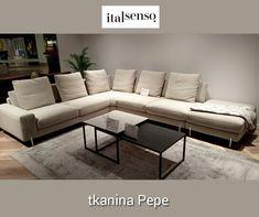 Poznaj PEPE 👉 tkaninę szenilową o krótkim, melanżowym włosie. Nieziemsko przyjemną w dotyku i do złudzenia przypominającą welur 😊 Jej matowa powierzchnia podkreśla elegancki charakter tkaniny, a dzięki zastosowaniu Zero Spot System jest łatwa do utrzymania w czystości 😍 Couch, Furniture, Home Decor, Settee, Decoration Home, Sofa, Room Decor, Home Furnishings, Sofas