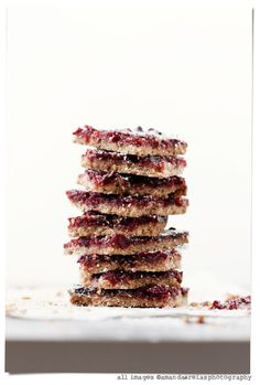 Cranberry bars - I have a ton of cranberries in my fridge that I didn't use at Christmas. Going to try this today!