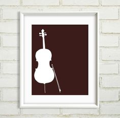 Gift For Musician  Instrument Art  Music  by BetweenEverything, $20.00