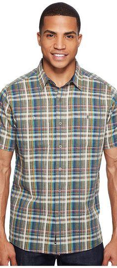 KUHL Skorpio (Arbor Green) Men's Short Sleeve Button Up - KUHL, Skorpio, 7218-327, Apparel Top Short Sleeve Button Up, Short Sleeve Button Up, Top, Apparel, Clothes Clothing, Gift, - Fashion Ideas To Inspire