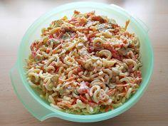 Gabelspaghettisalat, ein schönes Rezept mit Bild aus der Kategorie Gemüse. 6 Bewertungen: Ø 3,6. Tags: Gemüse, Party, Reis- oder Nudelsalat, Salat, Vegetarisch