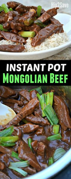 Here's how to easily make excellent tasting Mongolian Beef right at home in your Instant Pot pressure cooker!