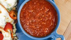 Tomato Recipes If you like pasta alla Norma (tomato, eggplant and sweet basil), you'll love this soup. - If you like pasta alla Norma (tomato, eggplant and sweet basil), you'll love this soup. Eggplant Soup Recipe, Roast Eggplant, Eggplant Recipes, How To Make Tomato Sauce, Tomato Sauce Recipe, Tomato Bisque, Tomato Basil Soup, Zuchinni Soup, Zucchini